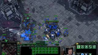 Early Drop into Mass Vikings vs Mass Raven - Masters TvT - Starcraft 2 LotV