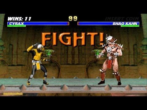 Mortal Kombat 3 arcade Cyrax Gameplay Playthrough