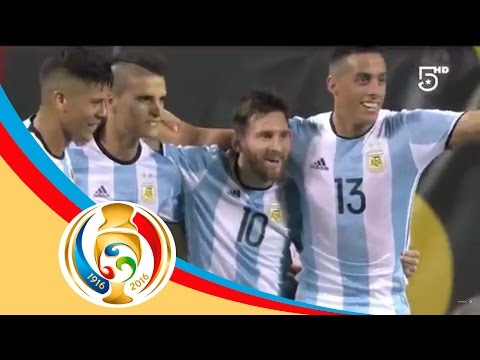 Resumen   Argentina 5 - 0 Panamá   Televisa Deportes.