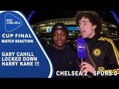 Gary Cahill Locked Down Harry kane !!! - Chelsea 2 Spurs 0