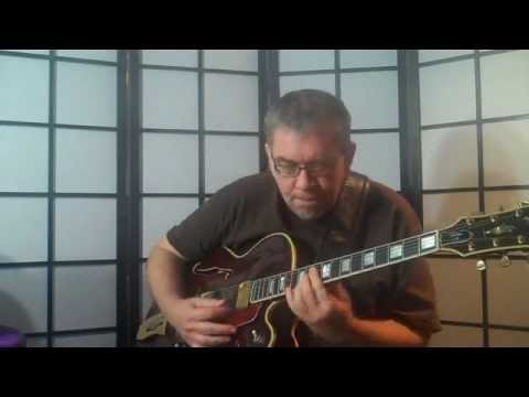 Tenderly Royce Campbell Chord Melody Solo Guitar