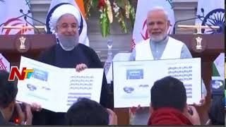 PM Narendra Modi and Iran President Jointly Launches Postal Stamp || India-Iran Ties