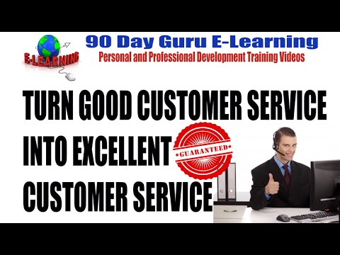 Turn Good Customer Service Into Excellent Customer Service