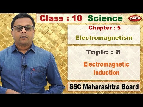 Class 10 | Science1 | Chapter 05 | Electromagnetism | Topic 8 Electromagnetic Induction thumbnail