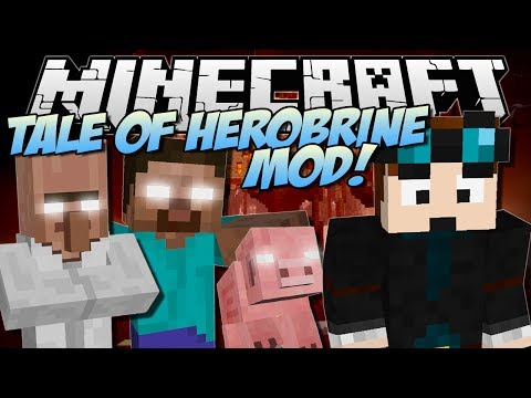 THE TALE OF HEROBRINE   Minecraft: Mod Showcase