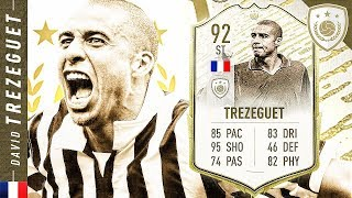 WORTH THE UNLOCK?! 92 ICON SWAPS MOMENTS TREZEGUET REVIEW!! FIFA 20 Ultimate Team