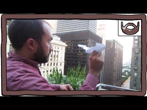 Throwing Paper Airplanes Off A Balcony