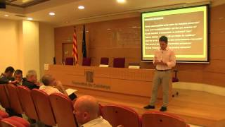 Vídeo i dinàmica. Reflexions professionals. Debat conceptes sobre professionalitat.A.Rimbau