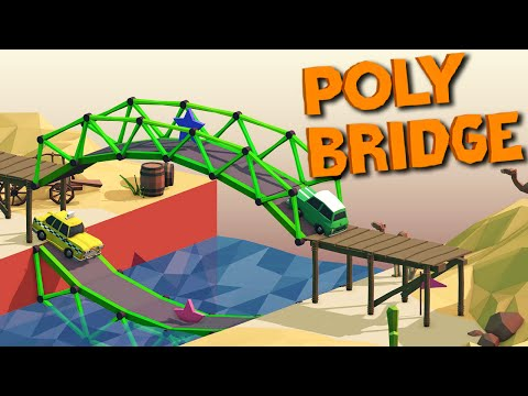 CHEESING THE GAME! - Poly Bridge #3