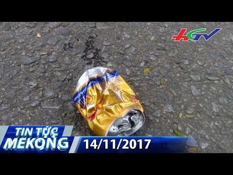 Tai nạn đau lòng vì… lon bò húc | TIN TỨC MEKONG - 14/11/2017 | Đài Phát Thanh - Truyền Hình Hậu Giang