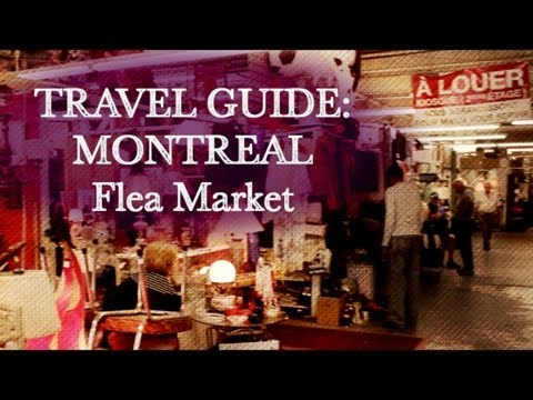 TRAVEL GUIDE MONTREAL: St.Michel Flea Market (picking and hunting for RARITIES)