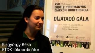 XVII. Erdélyi Tudományos Diákköri Konferencia