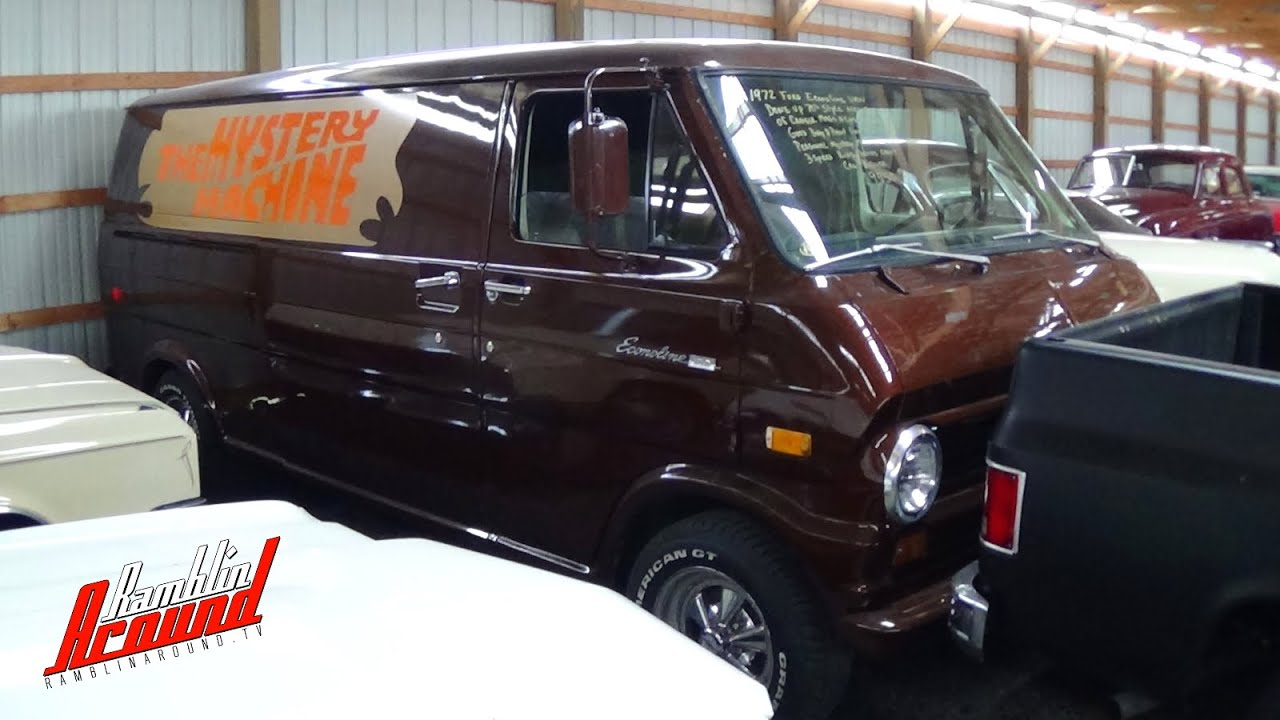 Custom 1972 Ford Econoline Mystery Machine Van Youtube