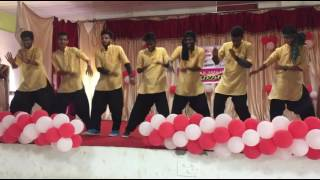 COLLAGE  ROCKING DANCE  (STAS B TECH STUDENTS)