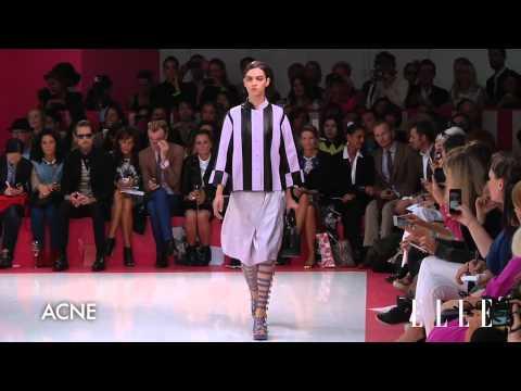 Acne 2013 SS Runway Show London Fashion Week ELLE TV