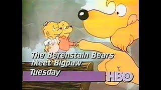 HBO Promos (Emma and Grandpa, Berenstain Bears Meet Bigpaw), 1985