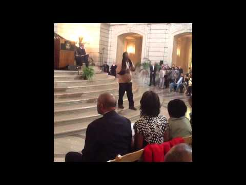Ile Omode @SF City Hall Black History Month Kick-Off - 02/13/2014
