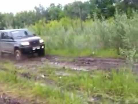 УАЗ 23632 Pickup, бездорожье