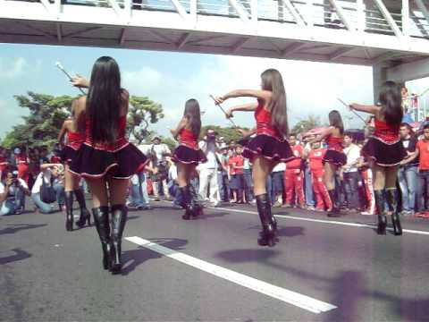 Desfile estudiantil, San Salvador 15.09.2009. Parte 7.