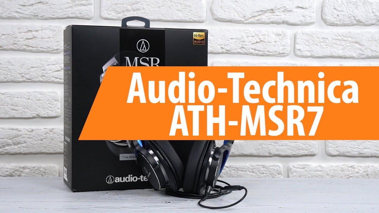 Распаковка Audio-Technica ATH-MSR7 / Unboxing Audio-Technica ATH-MSR7