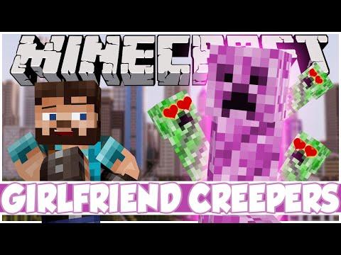 Minecraft Mod Showcase: GIRLFRIEND CREEPERS!   Female Creepers. Baby Creepers. Girlfriends Mod