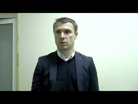 Сергей Ребров после матча 1/2 ФИНАЛА КУ МФК Николаев - Динамо (Киев) - 0:4
