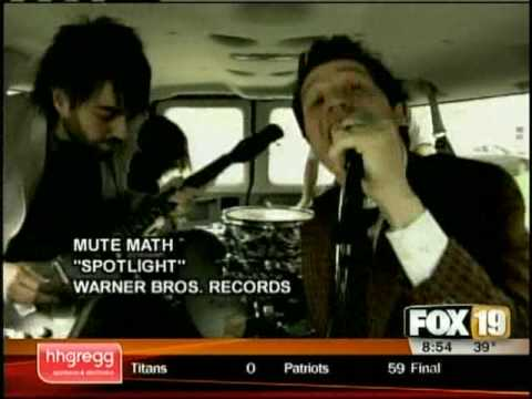 Mute Math Behind the Hits interview with Q102's Brian Douglas on FOX19