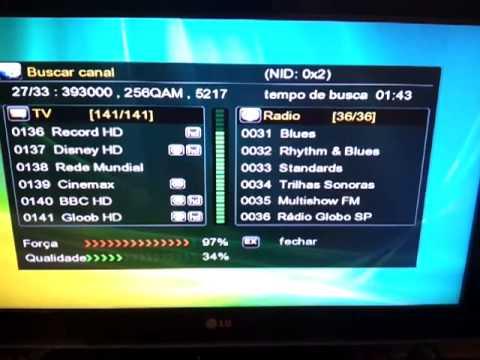F98 HD nova Atualização 2.92 para o deco azamerica