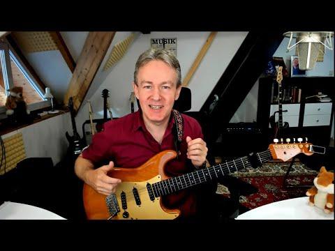 Rockgitarre - Wechselschlag Picking Technik Teil.2