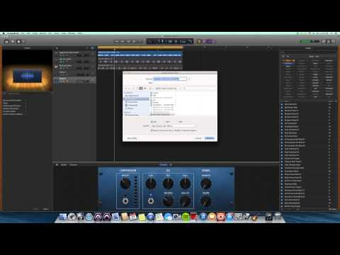 Exporting Audio from GarageBand to Pro Tools, Logic Or Any Other Program