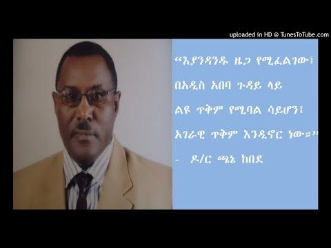Interview With Dr Chane Kebede - SBS Amharic