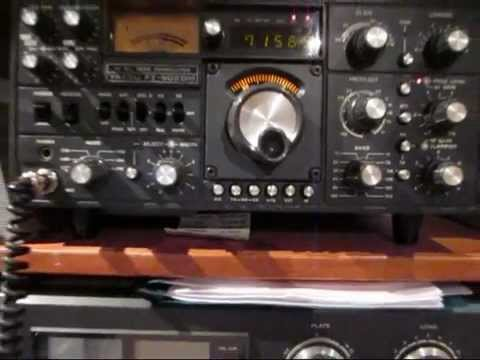 Yaesu FT-902DM using an external AD9851 DDS 'VFO'