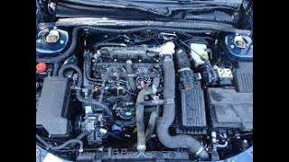 Moteur Peugeot 406  2.1 TD 110 Cv Tuto détailler