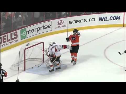 Chris Pronger Unsportsmanlike Penalty No Goal Call