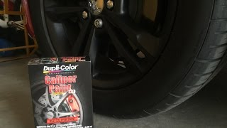 How to paint your calipers