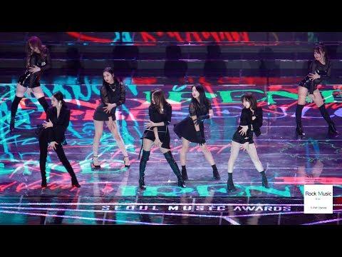 레드벨벳 (Red Velvet) Intro + Really Bad Boy (RBB)[4K 60P 직캠]@190115 락뮤직