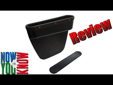 Car Seat Pocket Organizer Review!