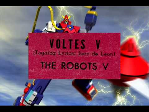 Voltes V (tagalog Version) - The Robots V video