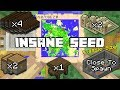 Minecraft: The BEST CLASSIC Sized Seed On Minecraft Console Edition!(Not Clickba
