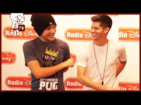 Austin Mahone Dances at Radio Disney