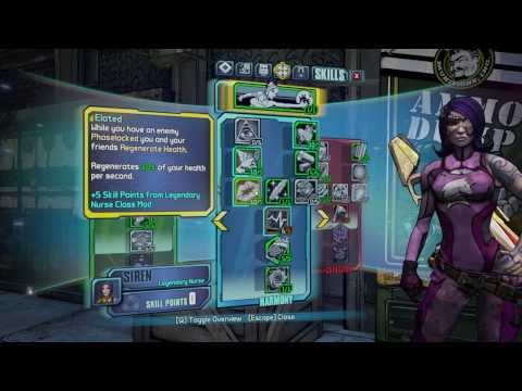 Borderlands 2 OP8 Siren Build: Maya The Medic