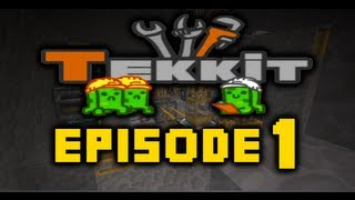 Minecraft Tekkit - Let's Play Ep 1 - It's Back With a Fresh Start!