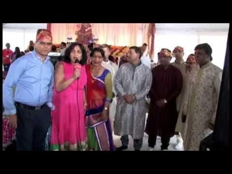 Bharitya Cultural Society Present  Jagran  With  Vipin Sachdeva  Nd Pamela Jain  2014 video