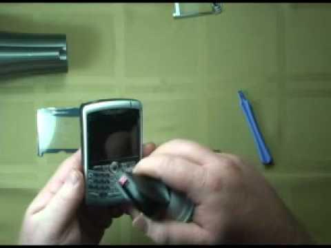 BlackBerry 8300 8310 8320 lens replacement proceedure