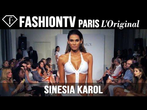 Sinesia Karol Swimwear Show   Funkshion Fashion Week Miami Beach 2015   FashionTV