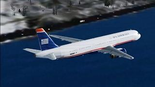 Vuelo 1549 de US Airways (Milagro en el río Hudson) Reconstrucción