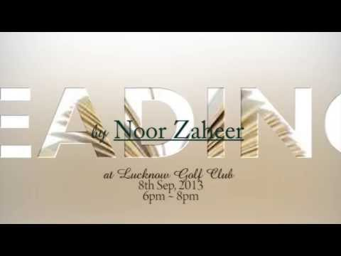 Book Reading - Noor Zaheer