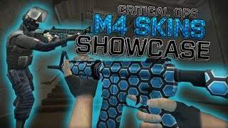 Critical Ops - M4 Skins Showcase!