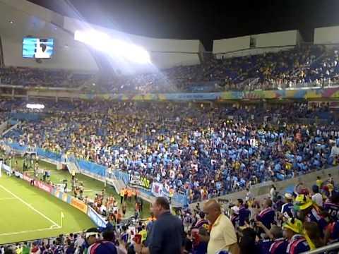 日本 0-0 ギリシャ FWC 2014 / Japan 0-0 Greece / Fans