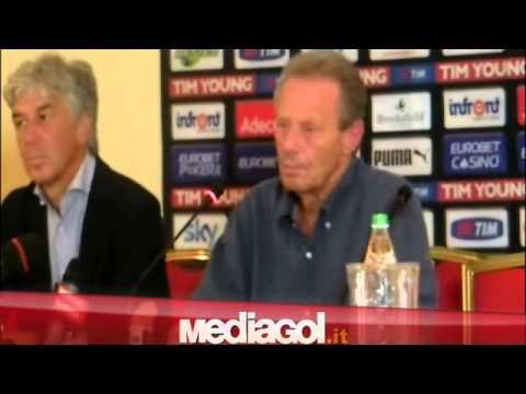 Maurizio Zamparini presenta Gian Piero Gasperini - Mediagol.it